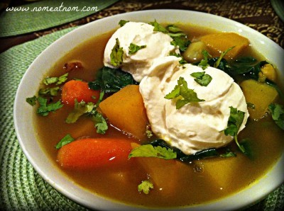 Moroccan Rutabaga Soup Overview